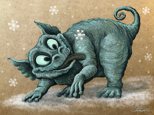 """Winter Wonderland"" Giclee Print"