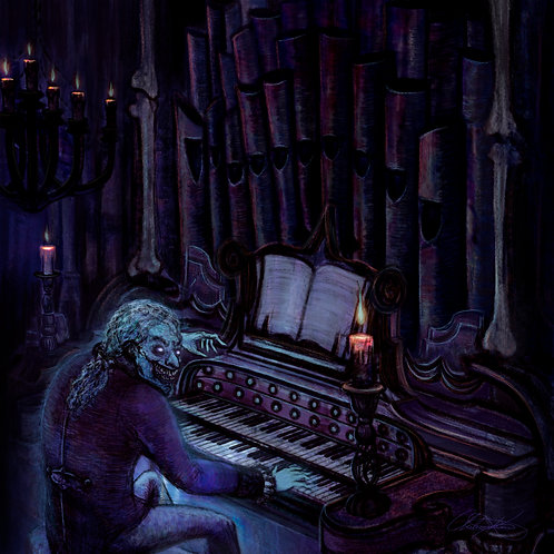 """""""Haunted Pipes"""" Giclee Print"""