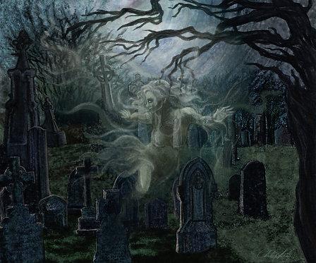 """Spirit Visit"" Giclee Print"