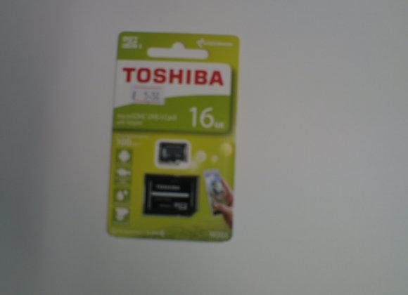 Toshiba 16GB MicroSD