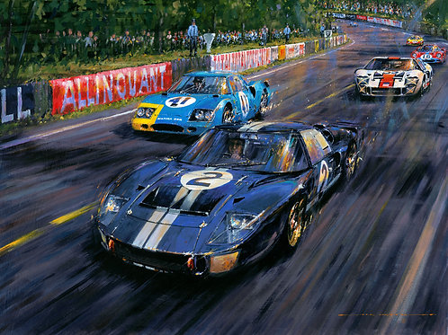 LE MANS 1966-FIRST WIN FOR FORD'