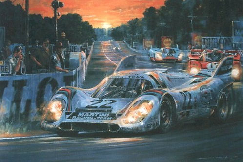 'AS DARKNESS BECKONS – LE MANS 1971'