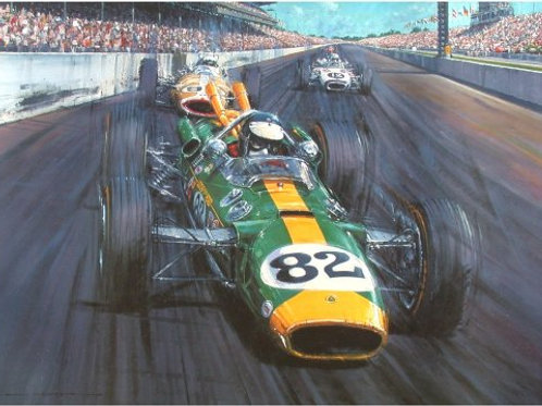 'TRIBUTE TO FORD – THE 1965 INDY 500'