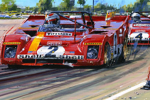 'SEEING RED – SEBRING 1972'