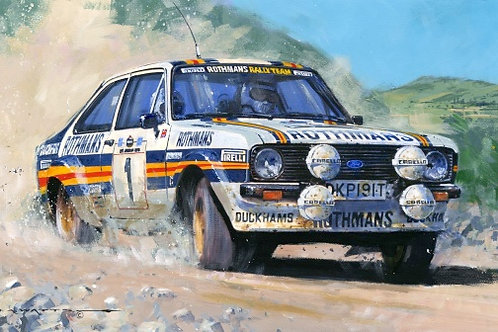 'WORLD RALLY CHAMPION 1981'