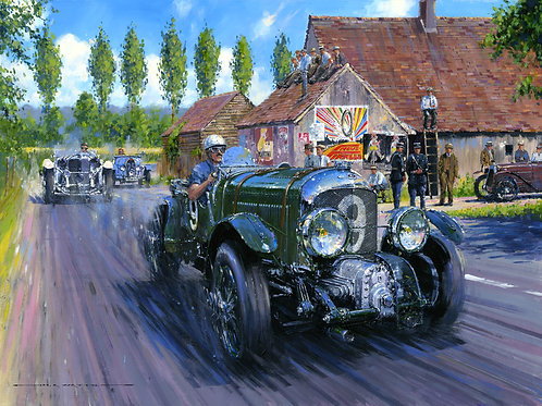 BLOWERS AT LE MANS'
