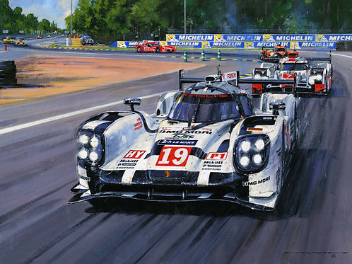 LE MANS-2015-RECORD WIN FOR PORSCHE'
