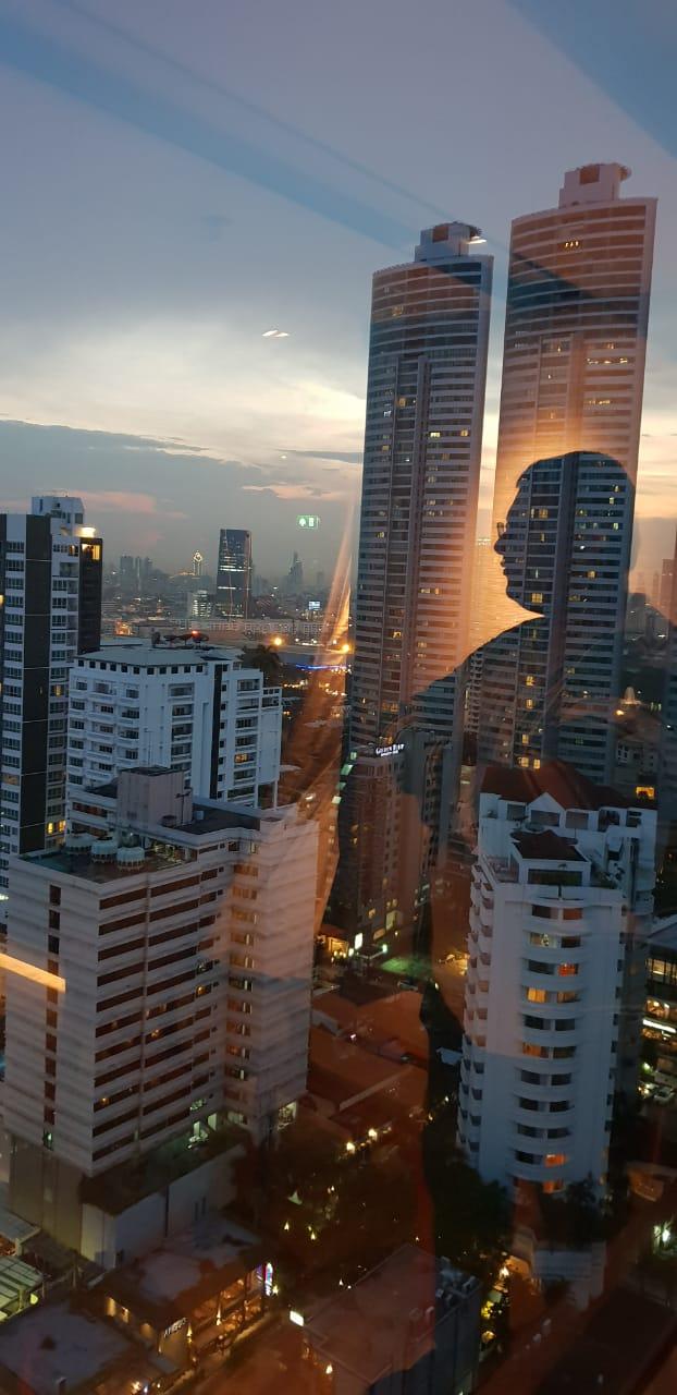 Bangkok Coach Harsh Silhouette