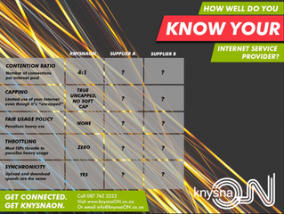 How Well Do You Know Your Internet Provider?