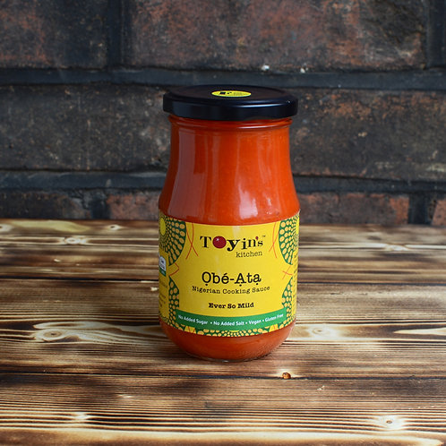 Obe-Ata Sauce: Ever So Mild