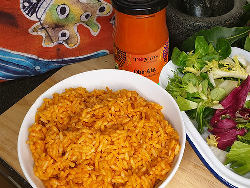Simple Oven Cooked Nigerian Jollof Rice
