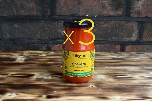 One Ata Sauce Bundle: 3 x Ever So Mild