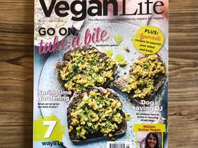 we're on vegan life's favourite list