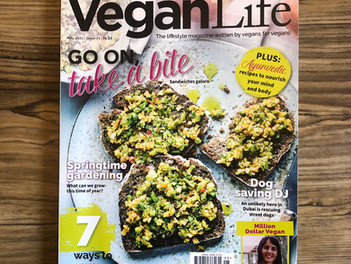 we're on vegan life's favourite list