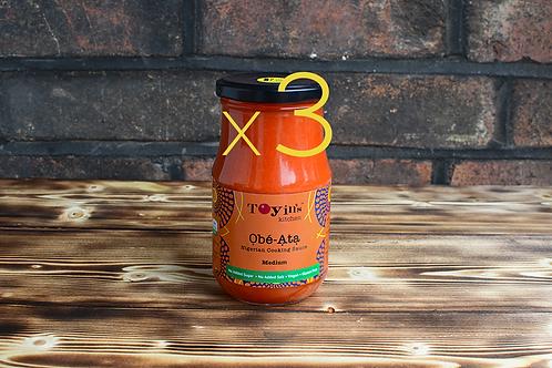 One Ata Sauce Bundle: 3 x Medium
