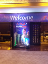 Special flat arch entrance for ISCAR_event by eventozo at ITC grand Chola