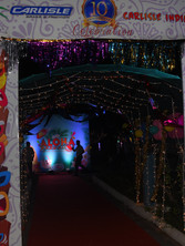 Hawaii theme outdoor party main entrance _event by eventozo
