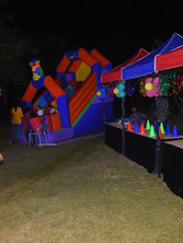 special outdoor event stalls and inflatables by eventozo
