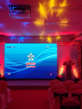 dymos Lear Event for hyundai star awards seating and stage