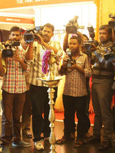 Live press coverage and press meet for hilife exhibition at hyatt regency_event by eventozo