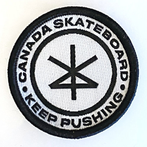 Logo Patch | Keep Pushing