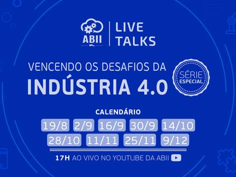 Indústria 4.0: ABII promove série especial de eventos online para profissionais e empresas