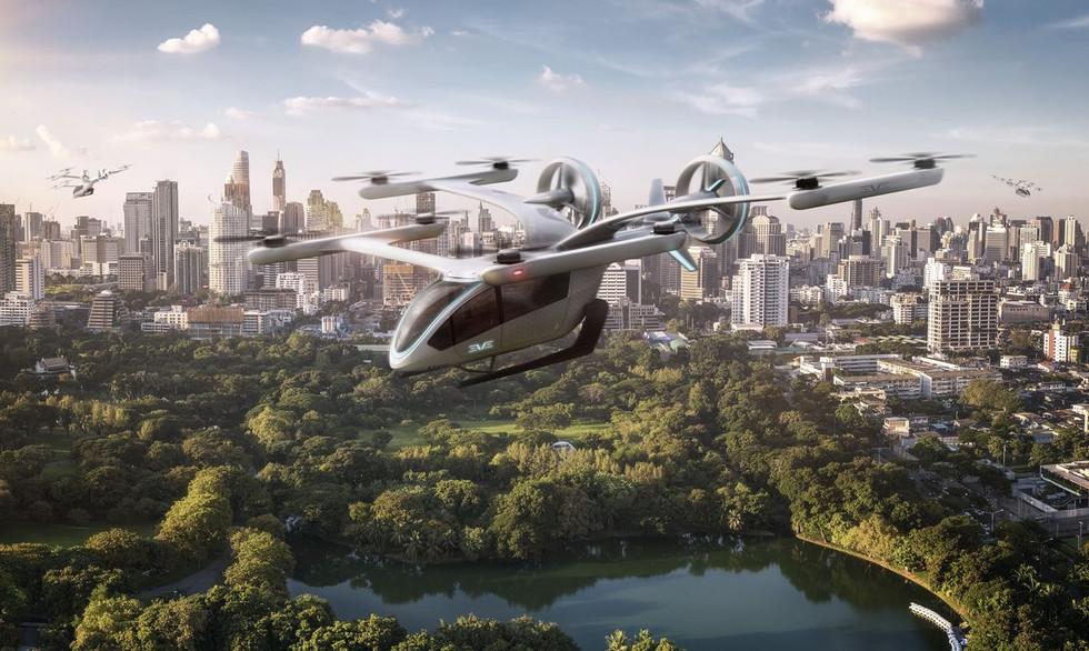 Embraer apresentou protótipo de carro voador elétrico; confira vídeo