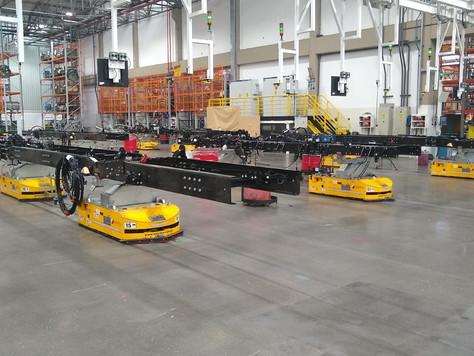 Selettra desenvolve solução 4.0 inédita para linha de montagem de chassis de ônibus