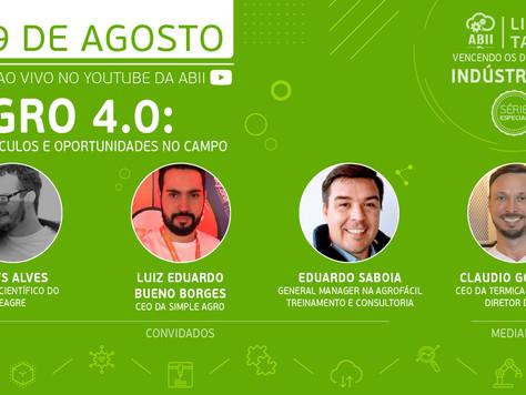 Painel vai discutir o Agro 4.0, obstáculos e oportunidades no campo
