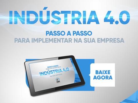 E-book gratuito: como implementar a indústria 4.0 na sua empresa