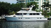 70' Hatteras Yacht