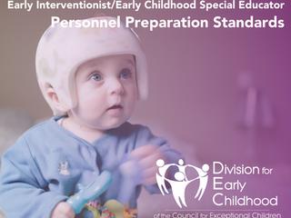 CEC Releases EI/ECSE Standards!