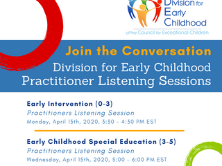 Division for Early Childhood Practitioner Listening Sessions