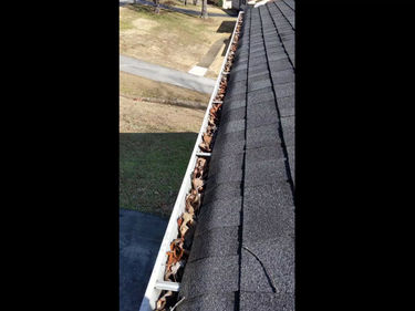 Have You Ever Seen a More Relaxing Gutter Cleaning Video?