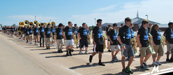 Moore Band Marching