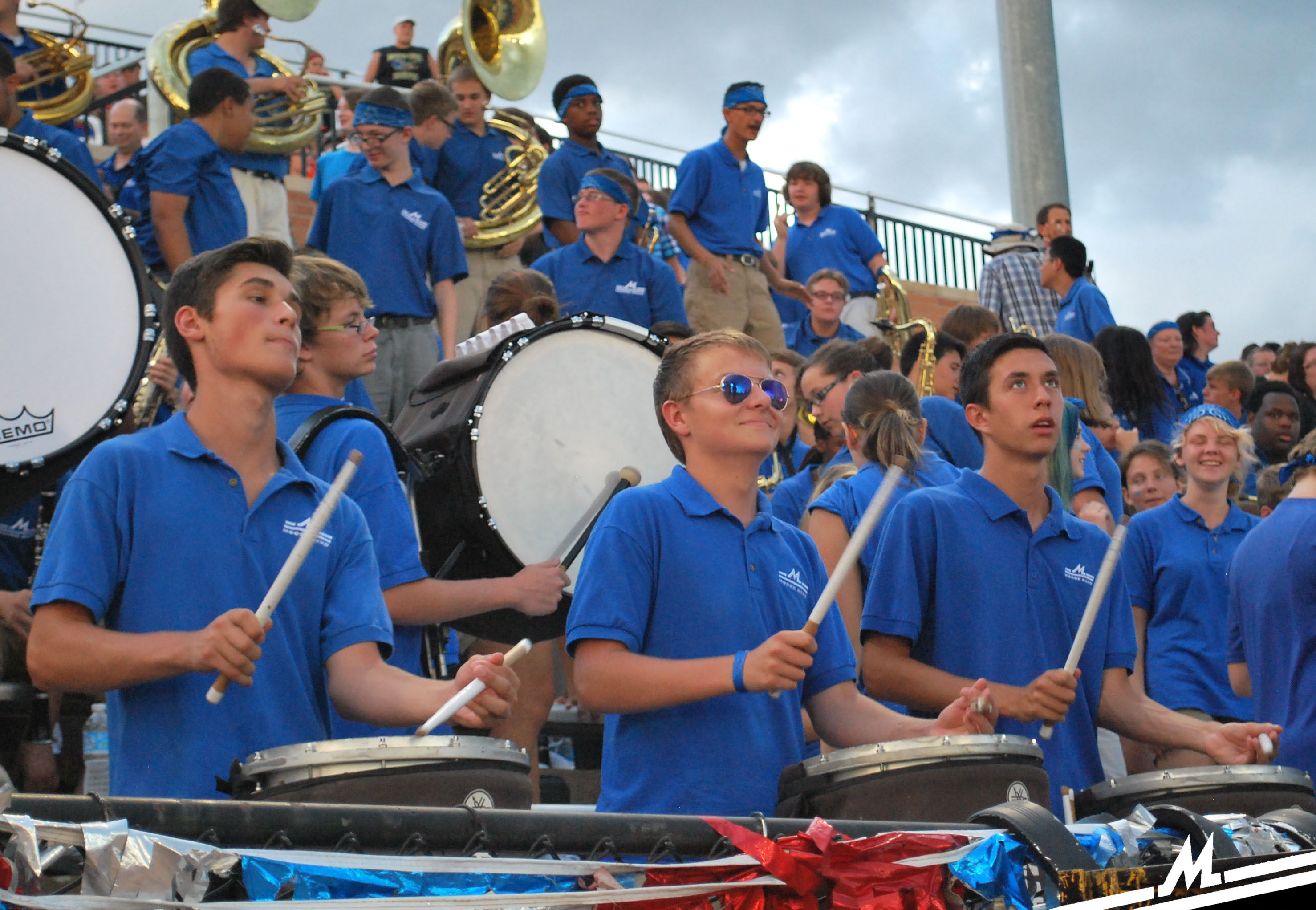 Percussion in the Stands
