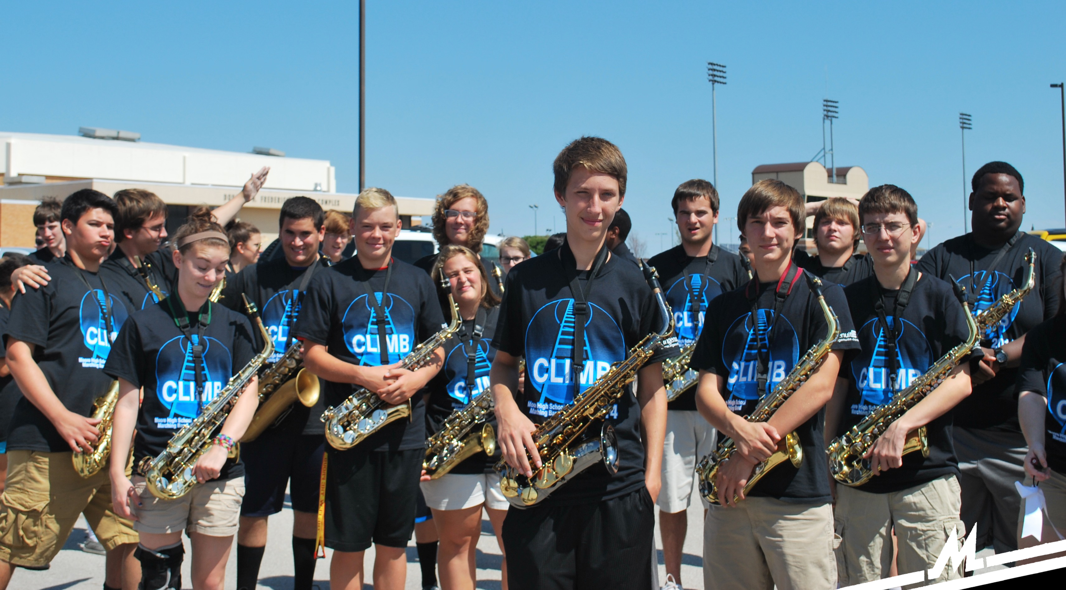 Moore Band Homecoming 2014