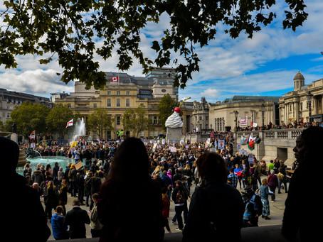 Anti Lockdown Protest - Trafalgar Square