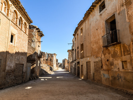 Belchite - The town that was never rebuilt