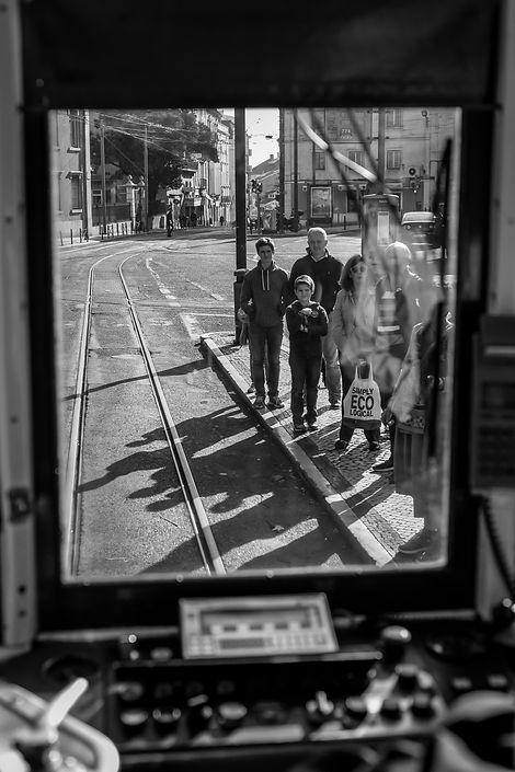 Tram in Porto - Portugal.jpg