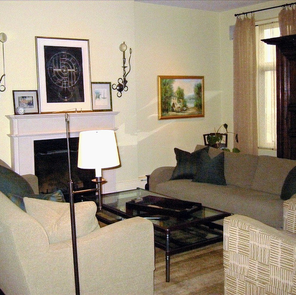 Old Town ~ Living Room