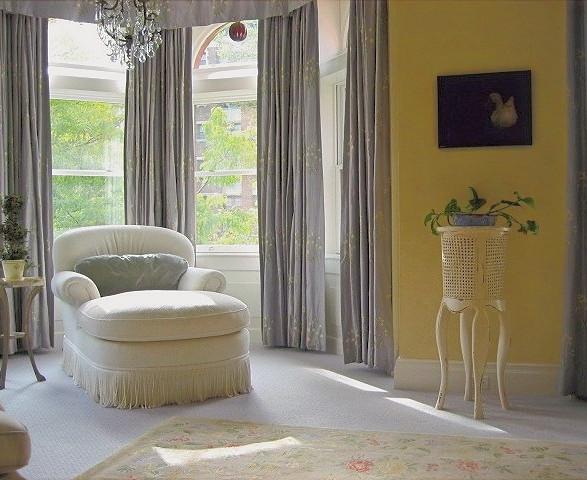 Lincoln Park ~ Reading Nook in Master Bedroom