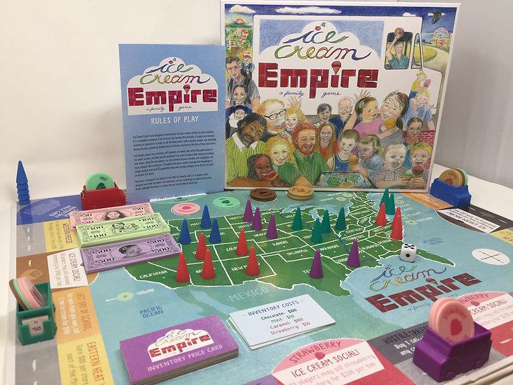 Ice Cream Empire Board Game