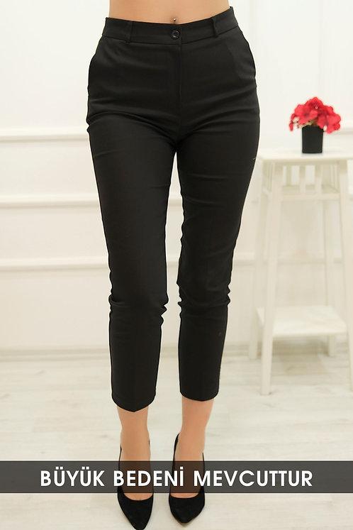 Kumaş Pantolon - Siyah
