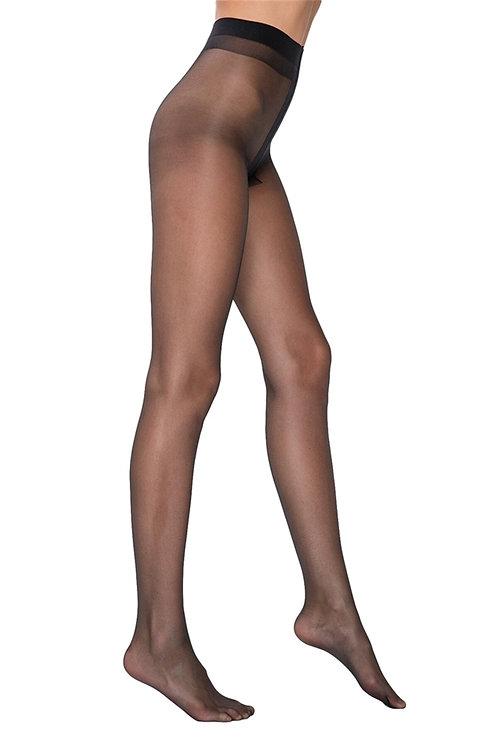 Mite Love İzsiz Külotlu Çorap Fit 15 Siyah