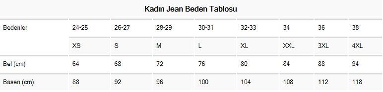 Kadın Jean Beden Tablosu.png