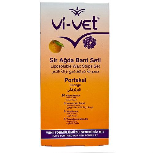 Vi-Vet Ağda Bandı Vücut 41Li Portakal