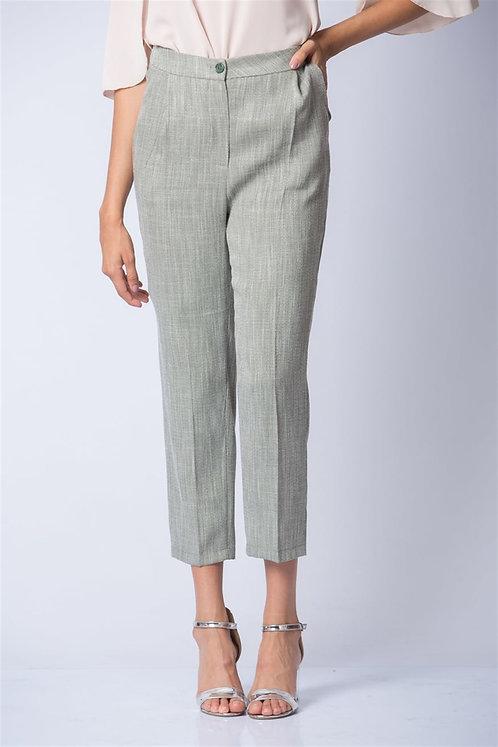 Kırçıllı Pantolon - Yeşil