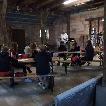 Video Workshop im Heimathaus - Praktische Übungen standen auf dem Programm