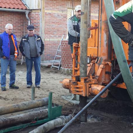 Neuer Brunnen fürs Heimathaus